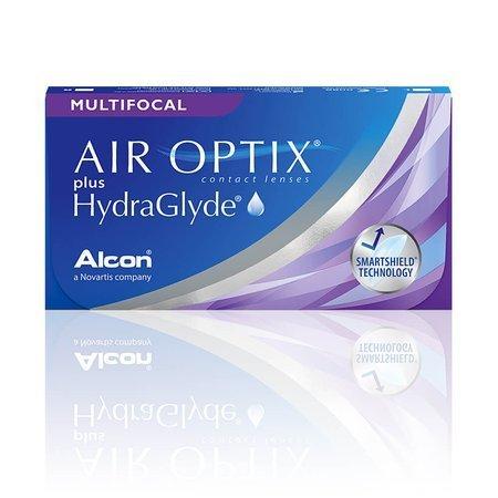 Air Optix Plus HydraGlyde Multifocal 6 szt.
