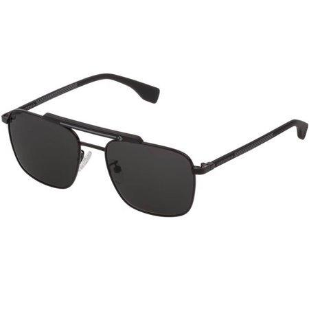 Converse męskie okulary przeciwsłoneczne, czarne, pilotki z gumowanym zausznikiem