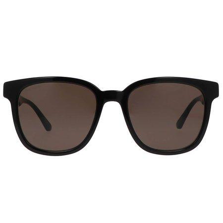 Gucci okulary przeciwsłoneczne męskie, z klasyczną czerwono-zielono kolorystyką zauszników