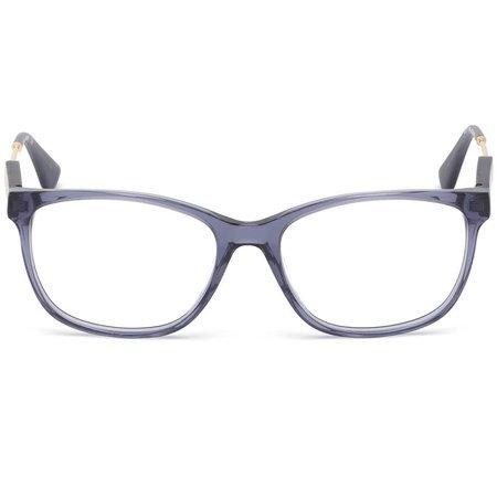 Guess lekkie damskie okulary kolor transparentno-granatowy GU 2717 090