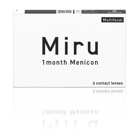 Miru 1month Menicon Multifocal 6 szt.