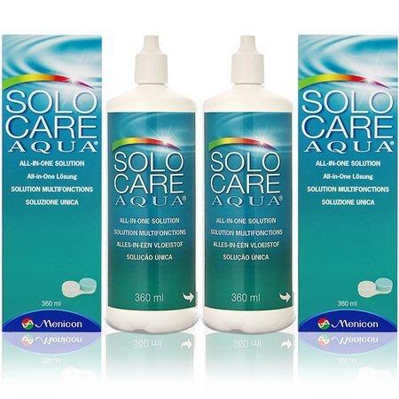 Płyn Solo Care Aqua 360 ml (2 opakowania)