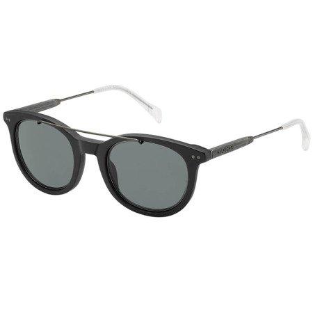 Tommy Hilfiger okulary przeciwsłoneczne z poprzeczką TH 1348/S JU48A